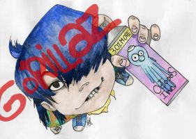 Noodle(GoRiLLaZ) by marina-the-hedgehog