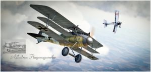 Triplane Madness 1917 by rOEN911