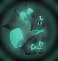 Lunah the umbreon by Kalinel