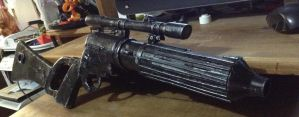 Boba Fett's EE-3 carbine rifle  by IMS07