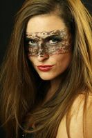 make-up lace mask by gestiefeltekatze