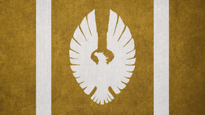 The Elder Scrolls: Flag of the Aldmeri Dominion by okiir