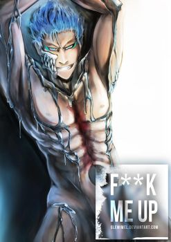 Chained Grimmjow by glemiwel