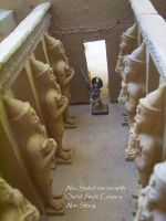 Abu Simbel miniature interior by Beishung