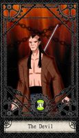 Ben 10 Tarot- 15. The Devil by CheshireP