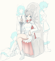 Summoner Weiss by Hiwonoafu