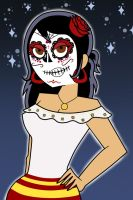 Day of the Dead by ShadowNightAngel13