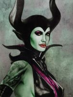 Maleficent by vicariou5