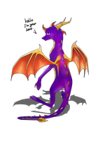 Spyro by Capy-dragoness