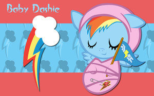 New Born Rainbow Dash WP by AliceHumanSacrifice0