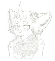 Anthro Doodle by SometimesCats