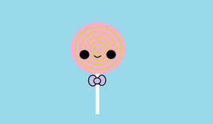 Kawaii Lollipop by KawaiiBow100