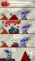 Undivided: Between Apples and Oranges by Snowfyre