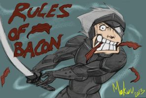 RULES OF BACON by Mokuu