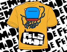 Felzmade shirtdesign- octo by ItsmeJonas