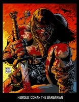 CONAN THE BARBARIAN by MalevolentNate