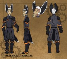 CharSheet: Thalioux gon Chacal by Droemar