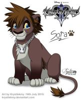 Kingdom Hearts 2 - Sora (Lion Form) by krystlekmy