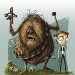 Chewie and Han by kehchoonwee