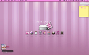 Organized Pink Macbook pro desktop screenshot by tunerbarbie