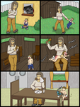 Caiden Taken to the Woodshed by tugscarebear