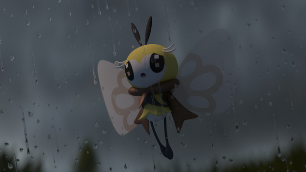 Raining Ribbon by TheAdorableOshawott