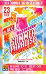 Flyer Summer Paradise Konnekt by AndyDreamm