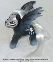 Apocalypse Death Custom Pony by mayanbutterfly