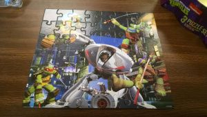 Ninja Turtles Puzzle (3) by FunZoneGallery12