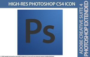Adobe Photoshop CS4 ICON by maoractive