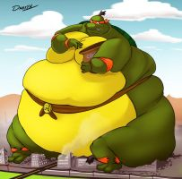 Macro Sumo Mikey by RickyDemont