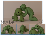 Blender +Baby Leo and Raph+ by Blaze-Bernatt