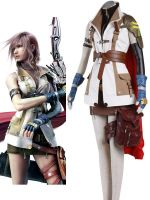 Final Fantasy XIII Lightning Cosplay Costume by morseedwina