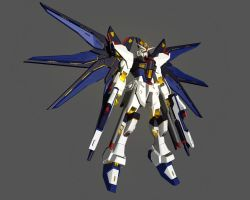 Strike Freedom Remake by maverick8