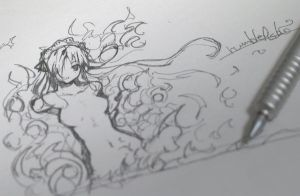a scribble by refeia