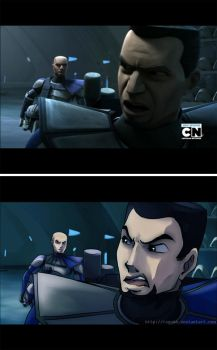 The Clone Wars Screencap - Comparison 01 by rayn44