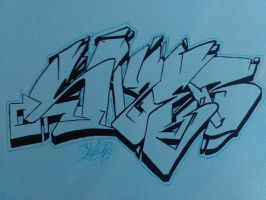 Fineliner by syzeone