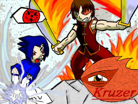 Avatar Vs. Naruto by Kruzer on DeviantArt Naruto Vs Avatar