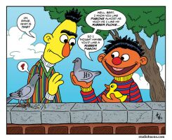 Bert and Ernie by StudioBueno