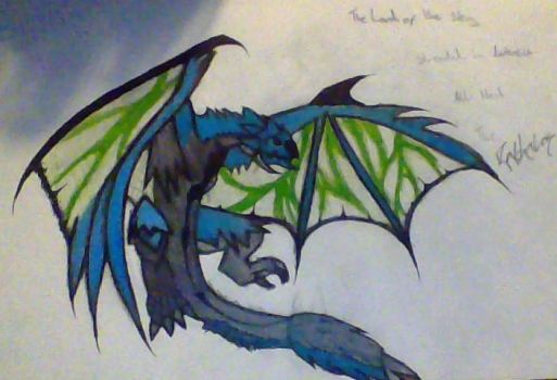 MH3U Rathalos by Element115Infection