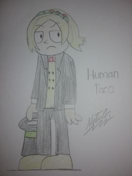 Taco as a Human (RQ) by NateReevs2002