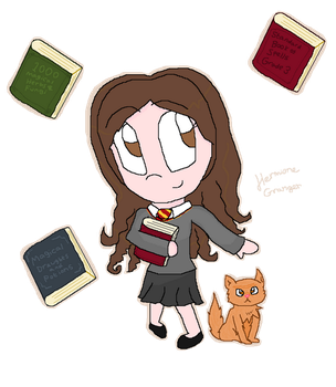 HPChibis: Hermione by GraphicsGirl-luvs-UK