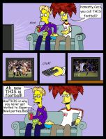 Football vs. Football by Nevuela
