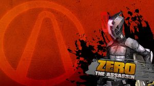 Borderlands 2 Wallpaper - Zero by mentalmars