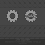Gear Rainmeter by noirtek