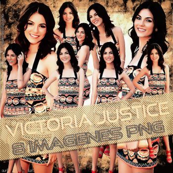 Victoria Justice Pack PNG by EBELULAEDITIONS