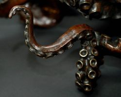 Tentacle to my bronze octopus by bronze4u