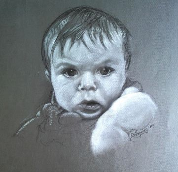 Baby Boy by kitschpainter