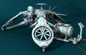 Concept Drone by Oshanin