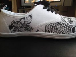 Spider-man Custom Trainers by Tezza-jr